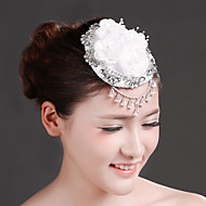 Women Rhinestone/Imitation Pearl/Chiffon Fascinators/Imitation Pearl/Rhinestone Wedding/Party Headpiece