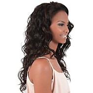 """10 """"26"""" Menschenhaar 100% gewelltes Haar schnüren sich vordere Perücken gewellte Haare Spitzeperücken"""