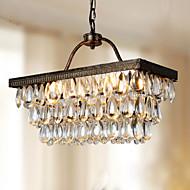 Lustres/Luzes Pingente - Metal - Cristal/LED - Sala de Estar/Quarto/Sala de Jantar/Quarto de Estudo/Escritório/Quarto de Jogo/Corredor