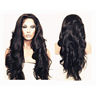 "Brazilian Virgin Hair Body Wave Glueless Full Lace Human Hair Wigs for Black Women 10""-30""Body Wave Lace Front Wigs"