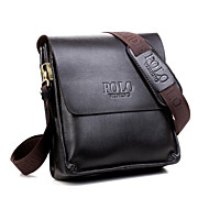 Men 's Cowhide Messenger Shoulder Bag