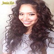 cabello humano brasileño envío libre pelucas delanteras del cordón remy indio 8a pelucas pelucas onda profundas 10-32inch del pelo
