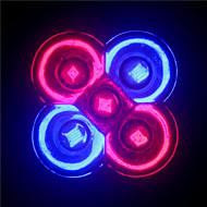 5W GU10 / E26/E27 LED bodovky MR16 5 High Power LED 500 lm Červená / Modrá AC 85-265 V 1 ks