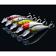 "5 pcs Hard Bait Minnow Lure kits Fishing Lures Lure Packs Hard Bait Minnow g/Ounce mm/3-1/4"" inch,Hard PlasticSea Fishing Bait Casting"