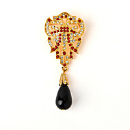 MO-EMMY Retro fashion brooches High-grade gold-plated Small suit to match  Europe and the United States jewelry EB703C