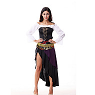 India Sexy Belly Dance Gypsy Costume Halloween costumes Cosplay purple stage