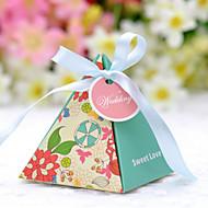 Geschenkboxen ( Traubenfarbe/Rosa/Rot , Kartonpapier ) - Nicht personalisiert - Hochzeit/Brautparty
