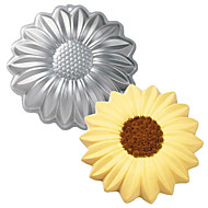 FOUR-C Sunflower Shape Aluminum Cake Baking Tools Baking Pan Mold
