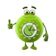 PAG®Modern 3D Effect Green Bean Man Wall Clock 15.7*16.81 inch / 40*42.7cm