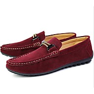 Men's Shoes Casual Loafers Black/Blue/Gray/Burgundy