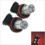 2шт carking ™ h8 / H11 1.5W 13x5050smd 125мл автомобиль задний противотуманный свет лампы (DC 12V)