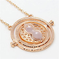 Hermione Hourglass Alloy Necklace(4 color)(1Pc)