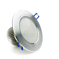 5W LED Recessed Lights Recessed Retrofit 5 High Power LED 400-500 lm Warm White / Cool White / Natural White / Pink AC 85-265 V 1 pcs