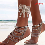 Shixin® Crystal/Alloy Anklet Daily/Casual 1pc