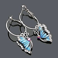 """New Arrival Hot Selling High Quality Rhinestone Butterfly Earrings"""