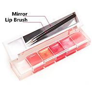 Lipglosses Våd / Glans Gelé Glitter glans (gloss) / Farvet glans / Fugt Orange