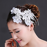 Women's Rhinestone/Crystal/Chiffon Headpiece - Wedding/Special Occasion Flowers 1 Piece