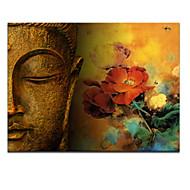 visivo star®modern foto arte buddha di pittura a olio astratta pronto da appendere
