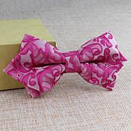 עניבות פרפר - תבנית/טופס חינם ( שחור/כחול/ורוד/ירוק/אדום/לבן/צהוב/Beige , polyster )