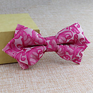Gravatas Borboletas (Preta/Azul/Rosa/Verde/Vermelho/Branco/Amarelo/Bege , Poliéster) Estampado/Forma Livre