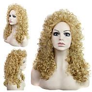 na Europa e nos Estados Unidos estilo de moda senhoras de cabelo encaracolado peruca de cabelo m27-613 #