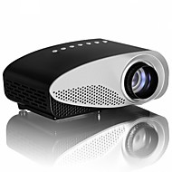 GP8S LCD HVGA (480x320) Projector,LED 120lm Mini HD Draagbaar Projector