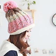 Women Cute/Casual Winter Knitwear/Wool Blend Ski Hat