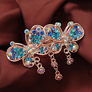 Women Rhinestone/Alloy Headpiece - Special Occasion/Casual High-End Extravagant  Barrette