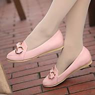 Γυναικεία παπούτσια - Μπαλαρίνες - Ύπαιθρος / Καθημερινά / Αθλητικά - Επίπεδο Τακούνι - Στρογγυλή Μύτη - Δερματίνη -Μαύρο / Μπλε / Ροζ /