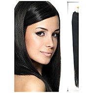 Grade 5A 1Pc/Lot 20Inch/50cm Multicolors Straight Micro Ring Hair Extensions Human Hair Weaves 100s/Pack 0.5G/s