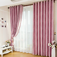 Two Panels Best Quality European Contracted Style Jacquard Window Shade Curtains Drapes