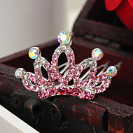Flower Girl's Rhinestone/Alloy Headpiece - Special Occasion/Casual Simple Tiaras 1 Piece