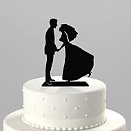 Figurine ( Schwarz , Acryl ) - Nicht-personalisierte - Hochzeit/Jubliläum/Brautparty