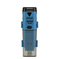 bside bth04 impermeável registrador de dados de temperatura com interface USB