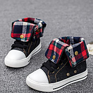 Baby Shoes Outdoor/Casual Canvas Boots Black/Blue