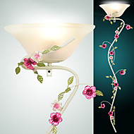 Hoshine® Pansy Flower Wall Sconces Country Style Wall Light Metal Bulb Included
