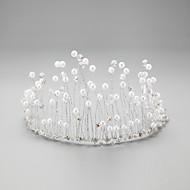 Bergkristal/Kristallen/Licht Metaal/Imitatie Parel Vrouwen/Bloemenmeisje Helm Bruiloft/Speciale gelegenheden HoofdbandenBruiloft/Speciale