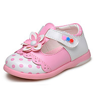 Girl's Flats Spring / Fall Comfort/ Flats Leatherette Outdoor / Casual Flat HeelApplique / Hook &