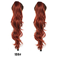 The New Fashion Lady Curly Hair Claw Clip Horsetail 130 # Color