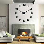 Uermerstar Modern Style 3D DIY Large Wall Clock Diameter 39 in