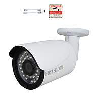 Waterdicht/Dag Nacht/Bewegingsdetectie/Dual Stream/Remote Access/IR-cut/Plug and play - Outdoor - HOSAFE - Kogel - IP Camera