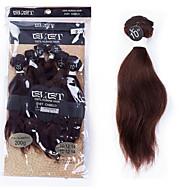 evet 6a jomfru kroppen bølge håret 6pcs 120g / mye ubearbeidet peruanske jomfru hår kropp bølge menneskelig hår bunter farge 2 #