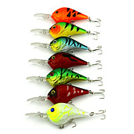 10Pieces Hengjia Crank Baits 11.2g  95mm Fishing lures Random Colors