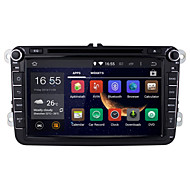 Quad-Core Android 4.4.4 Kitkar 8 Inch 1024*600 Resolution Double 2 Din Car DVD Player for VW/Tiguan/Jetta /Octavia