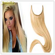 תוספות שיער כיתה העליונה 8 א 14inch-32 אינץ אורך 1pc משלוח מהיר ברזילאי אדם להעיף בתוספות שיער רמי