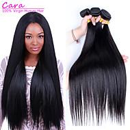Lidské vlasy Vazby Brazilské vlasy Proste 12 měsíců Vazby na vlasy