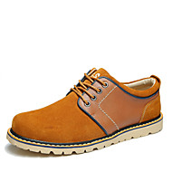 Men's Shoes Outdoor/Office & Career/Casual Suede Fashion Sneakers Blue/Brown