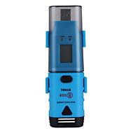 USBインターフェースとLCDディスプレイとのbside bth01防水2チャネル温度湿度露点データロガー
