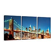 visuaalinen star®nyc Brooklyn Bridge giclee piirtoalustan tulosta seinätekstiili kuva