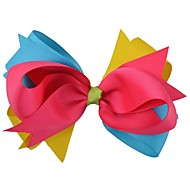 Capelli extra large 5inch piega hairclips boutique clip hairbows impilati nastro jumbo accessori fiore headwear hg076